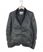 Yves Saint Laurent(イヴサンローラン)の古着「テーラードジャケット」|ブラック