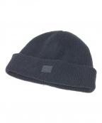 Acne studios(アクネストゥディオズ)の古着「ビーニー ニット帽」|ブラック