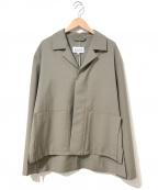 Maison Margiela 10(メゾンマルジェラ 10)の古着「ルーズフィットボックスジャケット」 ブラウン