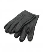 Gloves by F.lli.Forino(-)の古着「レザーグローブ」|ブラック