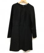 TARA JARMON(タラジャーモン)の古着「ブラックワンピース」|ブラック