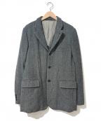 COMME des GARCONS HOMME PLUS(コムデギャルソンオムプリュス)の古着「[OLD]ヘリンボーンツイードテーラードジャケット」 グレー