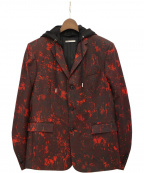 Dior(ディオール)の古着「フーデッドジャケット」 レッド