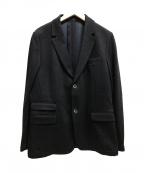SOLIDO(ソリード)の古着「2Bウールジャケット テーラード」|ネイビー