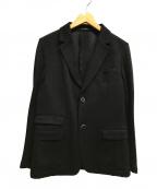 SOLIDO(ソリード)の古着「2Bウールジャケット テーラード」|ブラック