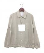 FUMITO GANRYU(フミトガンリュウ)の古着「COACH SHIRT JACKET」|ベージュ