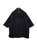 FUMITO GANRYU(フミトガンリュウ)の古着「Vintage Modern Coat」|ブラック