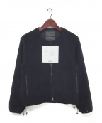 FUMITO GANRYU(フミトガンリュウ)の古着「Ventilation fleece jacket」|ブラック