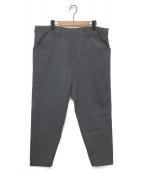 ()の古着「N.M BRUSHED PANTS」 チャコールグレー