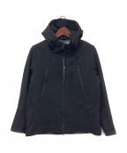 DESCENTE ALLTERRAIN(デザイント オルテライン)の古着「WIND SHIELD SOFT SHELL JACKET」|ブラック