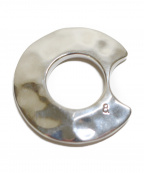 8UEDE(スウェード)の古着「Waver Ring」|シルバー