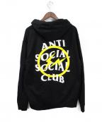 anti social social CLUB(アンチソーシャルソーシャルクラブ)の古着「パーカー」 ブラック