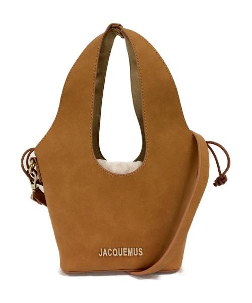 jacquemus(ジャックムス)jacquemus (ジャックムス) 2WAYバッグ キャメル サイズ:- Le Carinoの古着・服飾アイテム