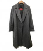 DAMA collection(ダーマコレクション)の古着「ピアツェンツァカシミヤラップコート」 グレー