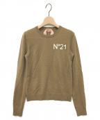N°21 numero ventuno(ヌメロヴェントゥーノ)の古着「ニット」|ブラウン