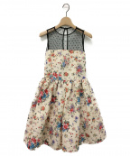 RED VALENTINO()の古着「ドレス」|ベージュ