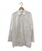 CLANE()の古着「BACK SLIT SHIRT」|ホワイト
