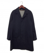 LORO PIANA(ロロピアーナ)の古着「ライナー付カシミヤステンカラーコート」 ネイビー