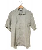 ()の古着「デッドストック・ストレッチリネンシャツ」|ベージュ