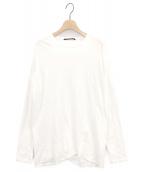 AP STUDIO(エーピーストゥディオ)の古着「Distortion Tシャツ」|ホワイト