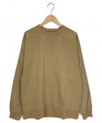 SSZ(エスエスジィー)の古着「シャカクルーネック」|ベージュ