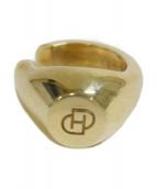 D'HEYGERE(ディヘレ)の古着「Signet Ear Cuff」|ゴールド