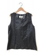Maison Martin Margiela 6(メゾン マルタンマルジェラ 6)の古着「[OLD]リップストップナイロンベスト」|ブラック