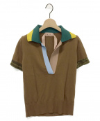 N°21 numero ventuno(ヌメロヴェントゥーノ)の古着「ニットポロシャツ」