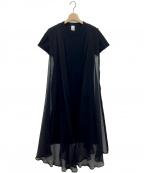 noir kei ninomiya(ノワール ケイ ニノミヤ)の古着「ワンピース」|ブラック
