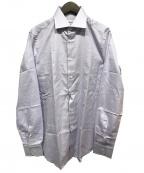 BRIONI(ブリオーニ)の古着「ドレスシャツ」 ラベンダー