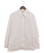 GROUND Y(グラウンドワイ)の古着「二重袖シャツ」 ホワイト