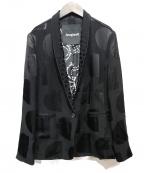 Desigual(デシグアル)の古着「ブレイザー KREMS」|ブラック