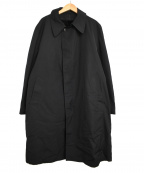 london fog(ロンドンフォグ)の古着「ステンカラーコート」 ブラック