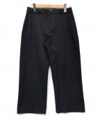 YAECA CONTEMPO(ヤエカ コンテンポ)の古着「2WAY PANTS STRAIGHT」|ネイビー