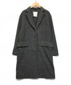 YAECA CONTEMPO(ヤエカ コンテンポ)の古着「カシミア混チェスターコート」|グレー