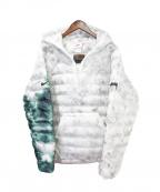 NIKE × STUSSY(ナイキ × ステューシー)の古着「インシュレーテッドプルオーバージャケット」|ホワイト