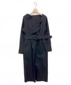Little suzie(リトルスージー)の古着「Back Open Dress」 ブラック