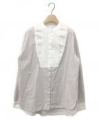 forte forte(フォルテ・フォルテ)の古着「シャツ」|ラベンダー