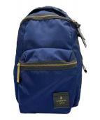 LANVIN en Bleu(ランバンオンブルー)の古着「トロカデロリュックサック」|ネイビー