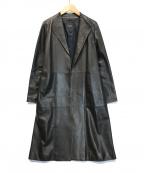 DAMA collection(ダーマコレクション)の古着「ラムレザーコート」 ブラック