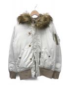 ()の古着「N-2Bジャケット」 アイボリー