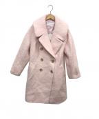 JILL STUART(ジルスチュアート)の古着「アルシアコート」|ピンク