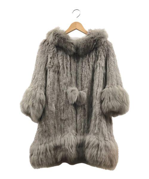 Diagram(ダイアグラム)Diagram (ダイアグラム) ファーコート ベージュ サイズ:36の古着・服飾アイテム