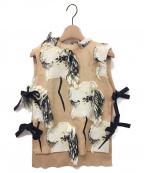 AKIRA NAKA(アキラナカ)の古着「Kaimila Pullover」|ベージュ