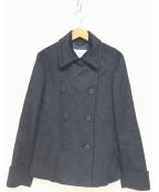 MaxMara(マックスマーラ)の古着「Pコート」|ブラック
