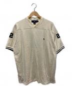 POLO SPORT(ポロスポーツ)の古着「ナンバリングTシャツ」 アイボリー