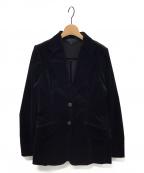 GUCCI()の古着「ベロアジャケット」 ブラック