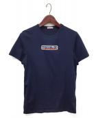 ()の古着「ロゴワッペンTシャツ」|ネイビー