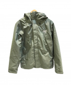 HELLY HANSEN(ヘリー ハンセン)の古着「Scandza 3WAY Jacket/中綿ジャケット」|オリーブ