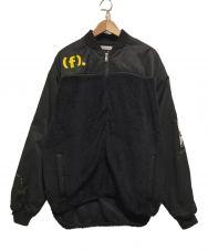 FLAGSTUFF (フラグスタフ) フリースジャケット ブラック サイズ:XL
